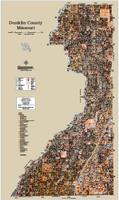 Dunklin County Missouri 2020 Soils Wall Map