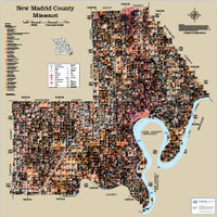 New Madrid County Missouri 2019 Soils Wall Map