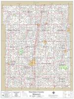 Harrison County Missouri 2021 Wall Map