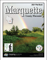 Marquette County Wisconsin 2021 Plat Book
