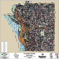 La Crosse County Wisconsin 2018 Wall Map