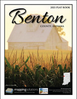 Benton County Indiana 2021 Plat Book