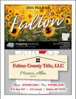 Fulton County Arkansas 2021 Plat Book