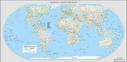 Equal-Earth World Map