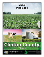 Clinton County Illinois 2018 Plat Book