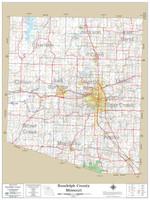 Randolph County Missouri 2019 Wall Map