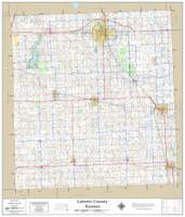 Labette County Kansas 2019 Wall Map