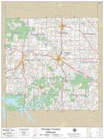 Orange County Indiana 2019 Wall Map