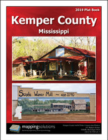 Kemper County Mississippi 2019 Plat Book
