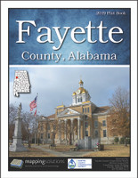Fayette County Alabama 2019 Plat book