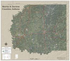 Martin-Daviess Counties Indiana 2019 Aerial Map