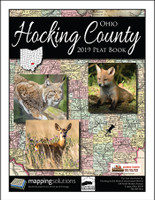 Hocking County Ohio 2019 Plat Book