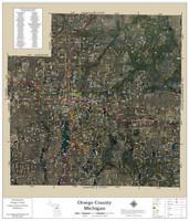 Otsego County Michigan 2019 Aerial Wall Map