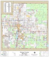 Otsego County Michigan 2019 Wall Map