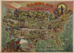 Rambles Through Our Country Map