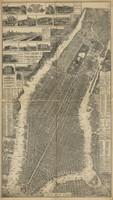 New York, NY 1879 Map