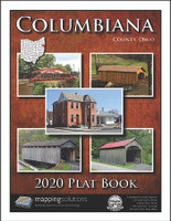 Columbiana County Ohio 2020 Plat Book