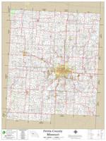 Pettis County Missouri 2020 Wall Map