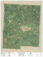 Pettis County Missouri 2020 Aerial Wall Map