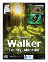 Walker County Alabama 2020 Plat book