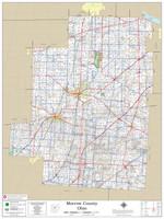 Morrow County Ohio 2020 Wall Map
