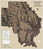Arkansas County Arkansas 2020 Aerial Wall Map