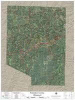 Pulaski County Missouri 2020 Aerial Wall Map