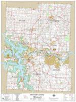 Benton County Missouri 2020 Wall Map