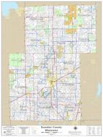 Kanabec County Minnesota 2020 Wall Map