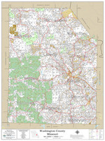 Washington County Missouri 2020 Wall Map