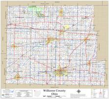Williams County Ohio 2021 Wall Map