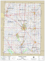 Preble County Ohio 2021 Wall Map