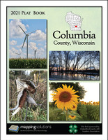 Columbia County Wisconsin 2021 Plat Book