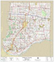 Callaway County Missouri 2021 Wall Map