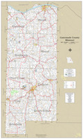 Gasconade County Missouri 2021 Wall Map