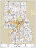 Richland County Ohio 2021 Wall Map