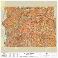 St. Croix County Wisconsin 2021 Soils Wall Map
