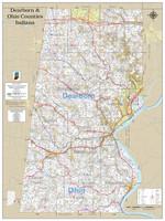Dearborn-Ohio County Indiana 2021 Wall Map