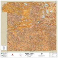 Monroe County Wisconsin 2021 Soils Wall Map
