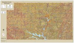 Marathon County Wisconsin 2021 Soils Wall Map