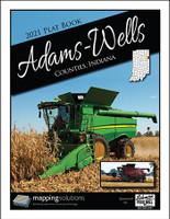 Adams-Wells Counties Indiana 2021 Plat Book