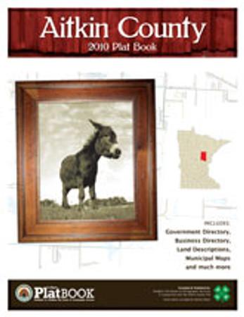 Aitkin County Minnesota 2010 Plat Book
