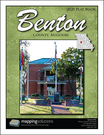 Benton County Missouri 2020 Plat Book