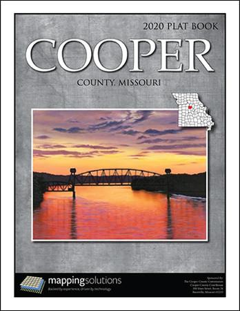 Cooper County Missouri 2020 Plat Book