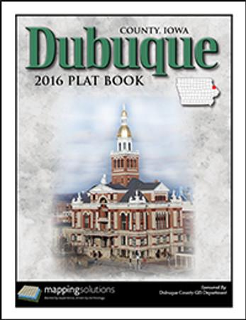 Dubuque County Iowa 2016 Plat Book