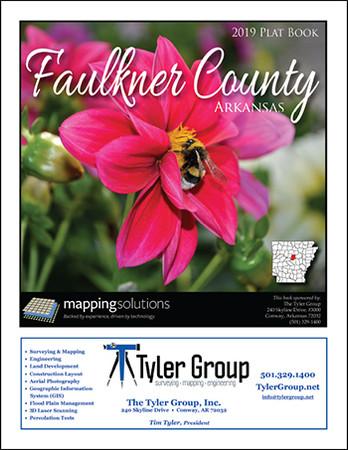 Faulkner County Arkansas 2019 Plat Book