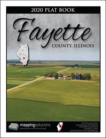 Fayette County Illinois 2020 Plat Book