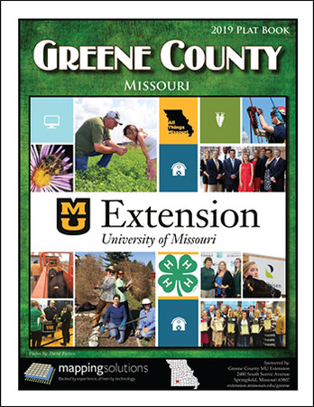 Greene County Missouri 2019 Plat Book