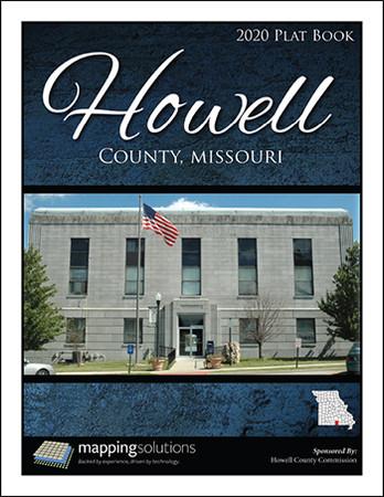 Howell County Missouri 2020 Plat Book