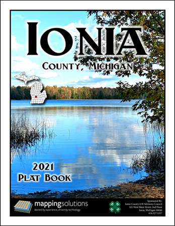 Ionia County Michigan 2021 Plat Book
